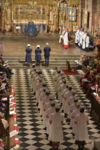 Lamp Procession at Altar (2)