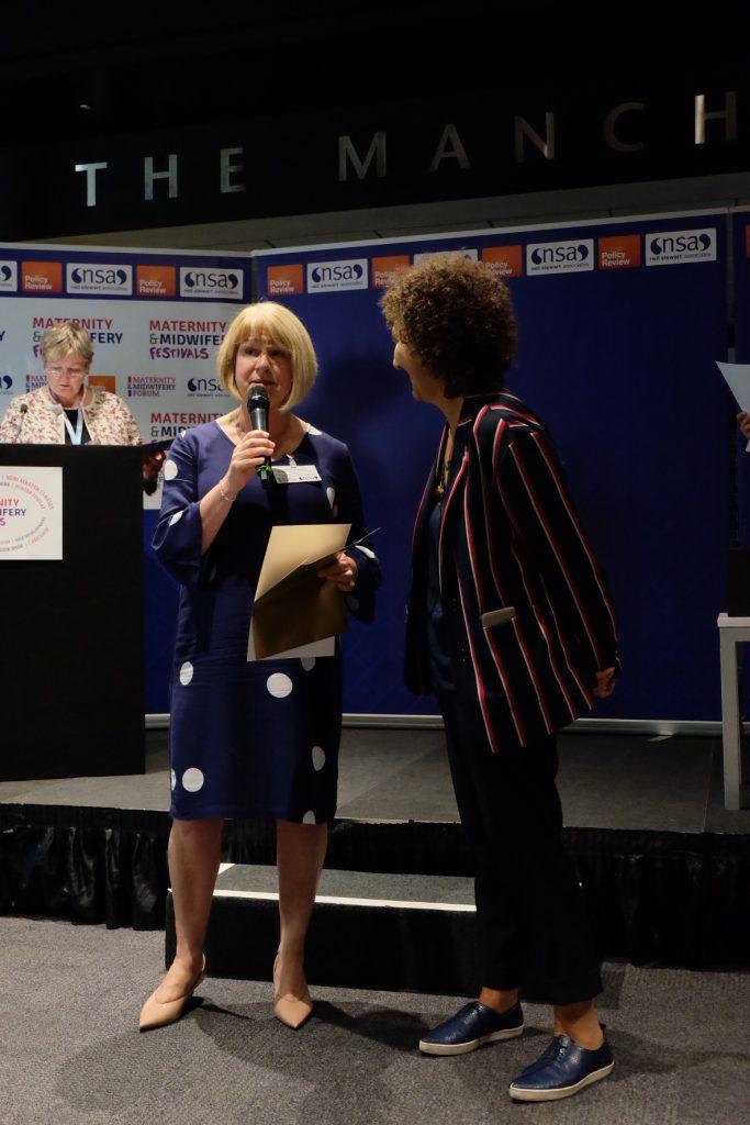 Management Award Winner: Cathy Atherton, Former Head of Midwifery, Lancashire Teaching Hospitals NHS Foundation Trust