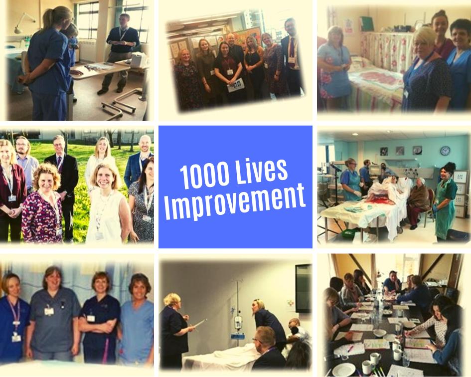 1000 lives Improvement - Transformation Innovation Award Nominee