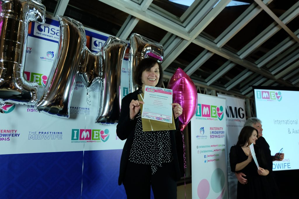 Erika Glenny - Highly Commended Nominee for the UK Midwife Achievement Award
