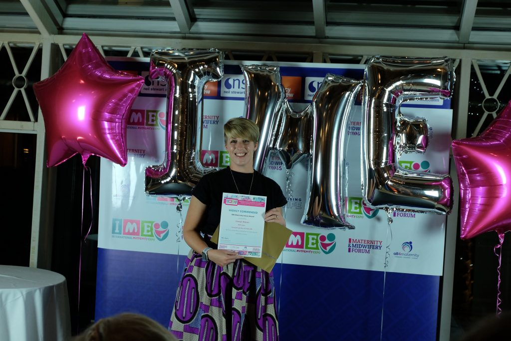 Georgie Watson - Highly Commended for the Maternity Voices Award