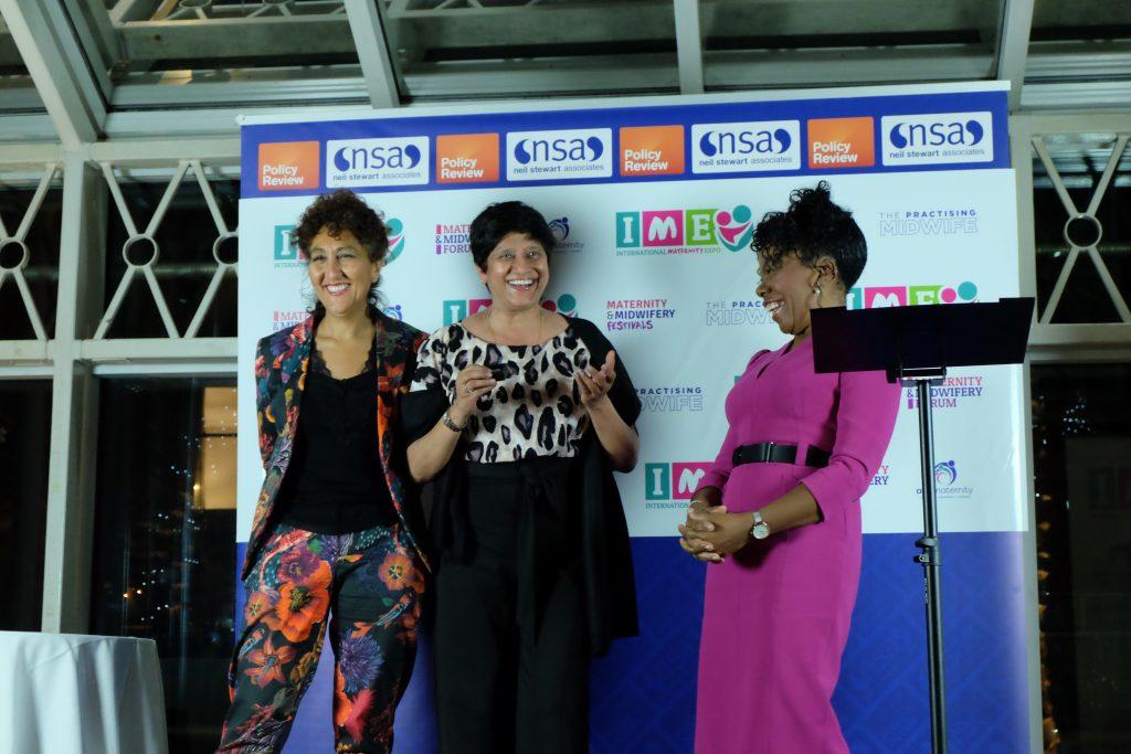 Inderjeet Kaur - Winner of the Chief Midwifery Officer's Gold Award