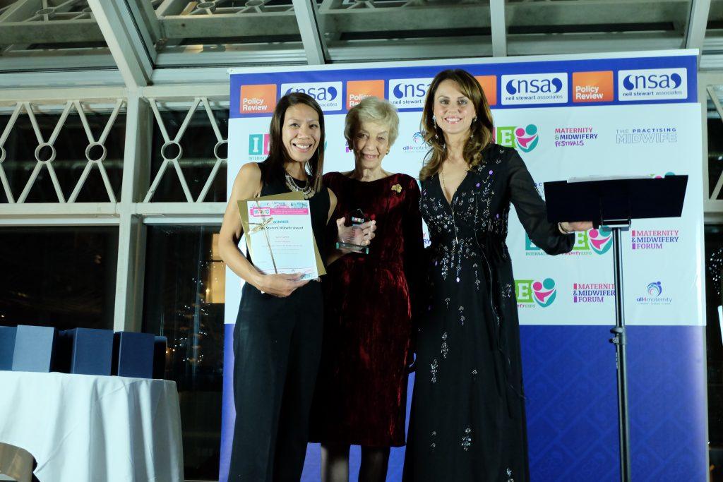 Lara Carter - Winner of the Student Midwife Award