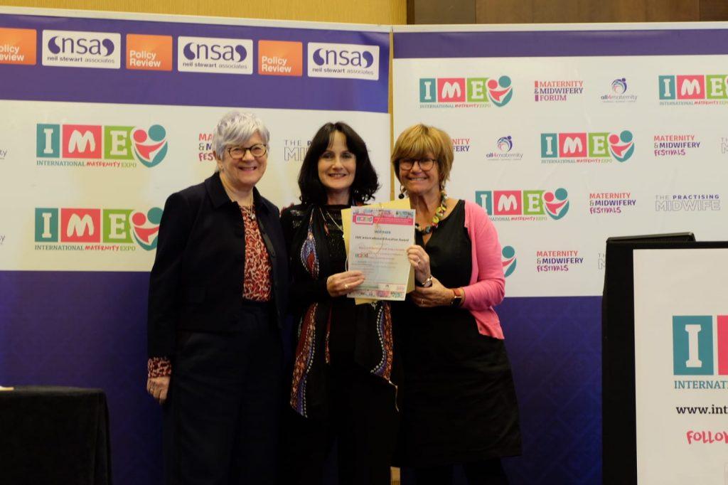 Mary Sidebotham - International Education Award Winner