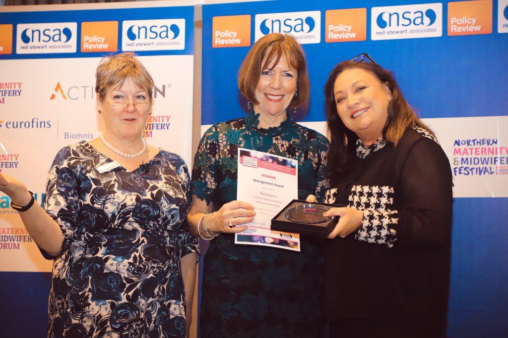 Management Award Winner - Mary Brosnan, National Maternity Hospital