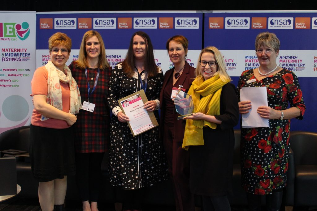 MMF Team Award Winners: The RGU Midwifery Insight Team