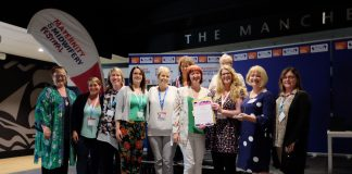 Team Award Winner: Lancashire Teaching Hospitals Maternity Service