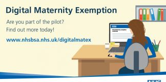 Digital maternity exemption service