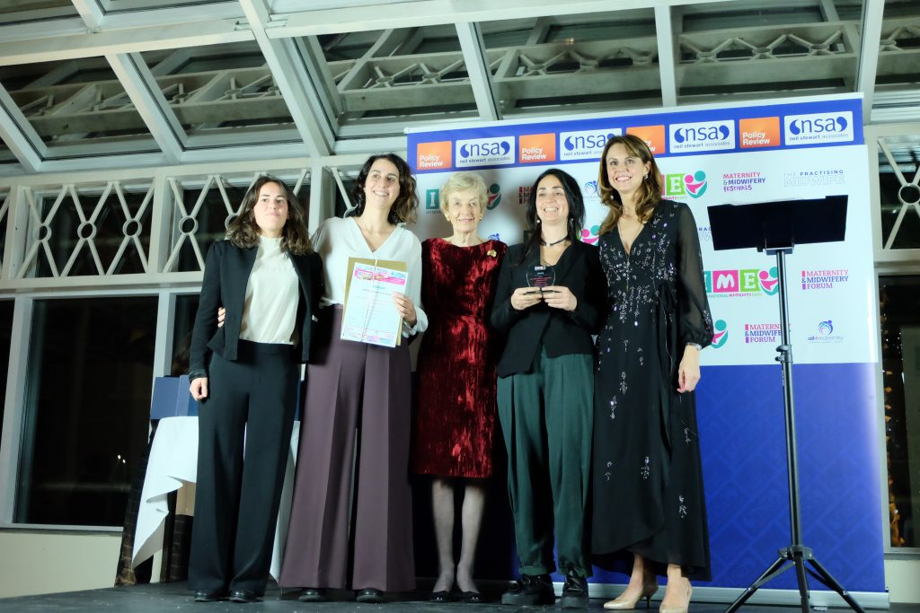 TESIS – Birth Environment Research Group - Winners of the Built Environment Award