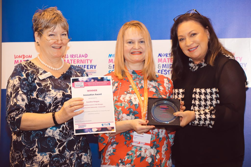 Innovation Award Winner - Caroline Keegan, Scottish Nursing Guild