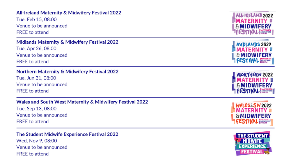 Events 2021/22